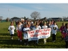 Riley Avenue students walk for the Trincas