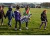 Riley Avenue students walk for the Trincas
