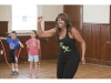 Jump rope champion Lucie Buissereth in Cutchogue