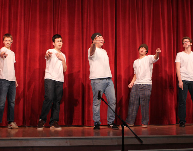 Southold High School talent show